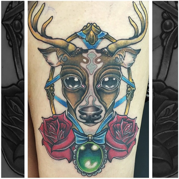 Stag by Ferg