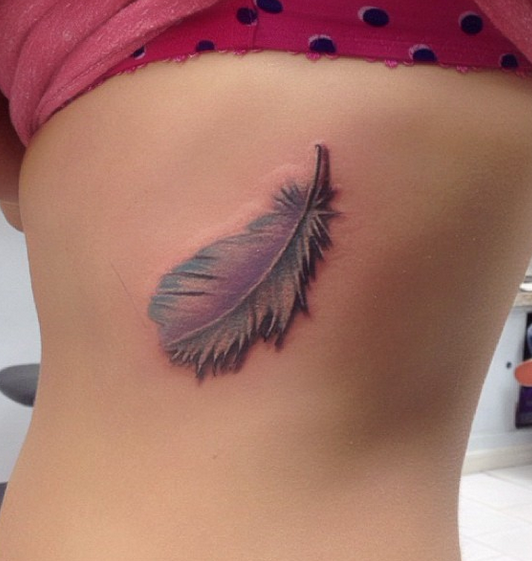 Feather by Vicki