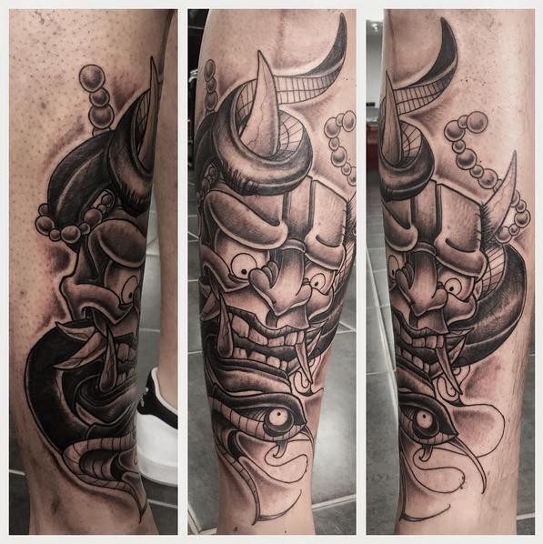 Oriental Mask by Ferg