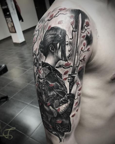 Geisha by Ferg