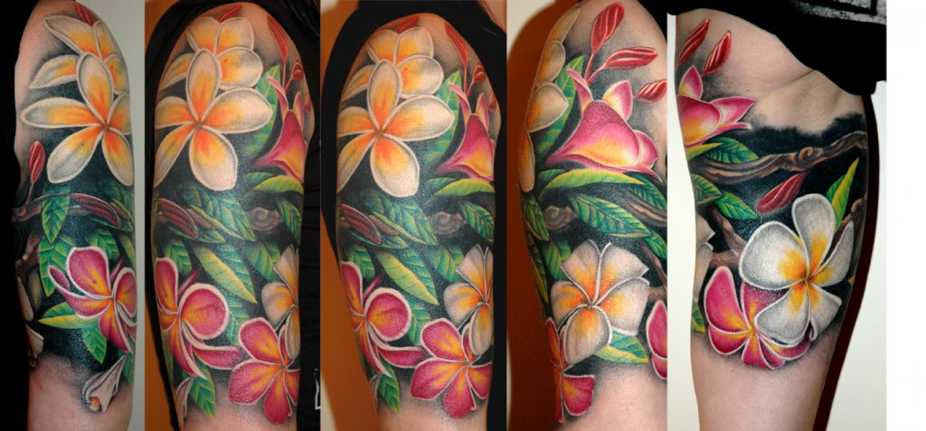 Flowers - Chameleon Tattoo - Tattoo Studio in Paisley