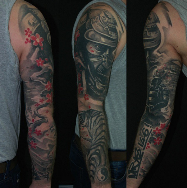 ce9db8ab9 Large Tattoos - Chameleon Tattoo - Tattoo Studio in Paisley