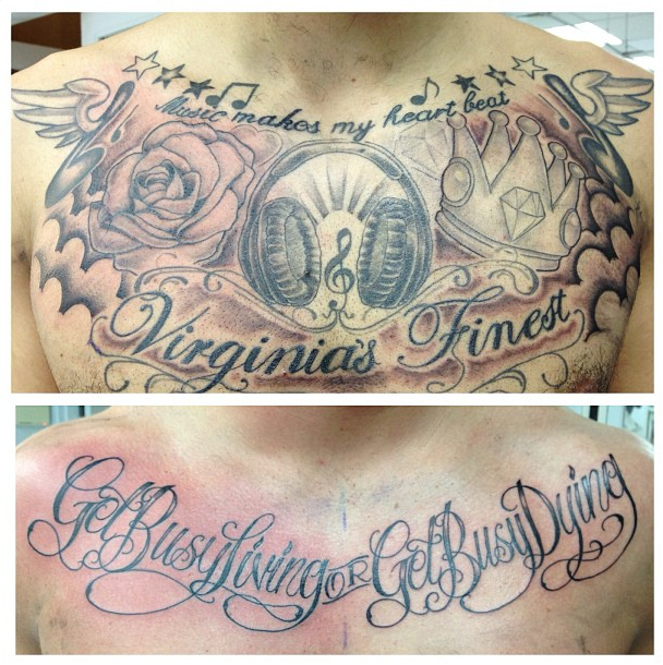 Chest pieces by Ferg