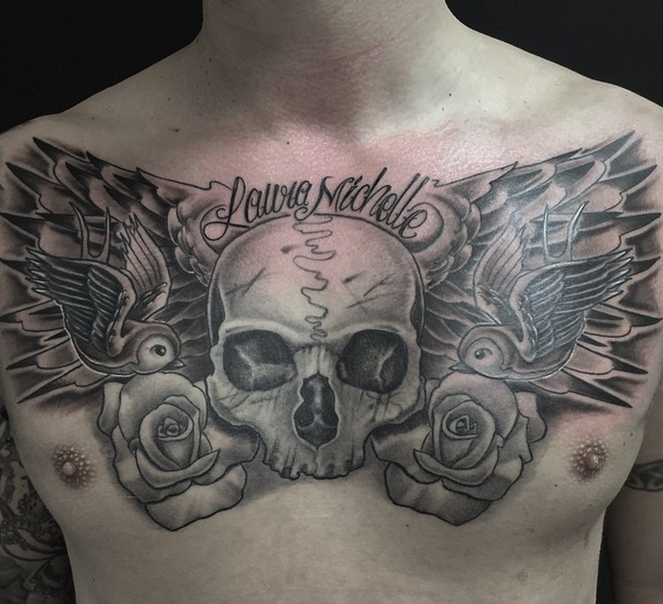 Chest piece by Ferg