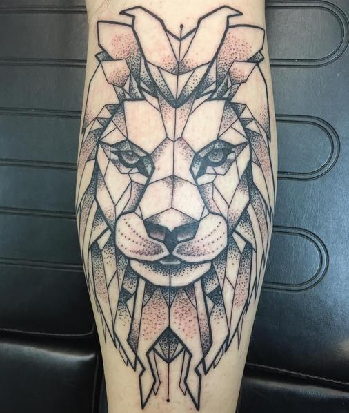 Geometric Lion