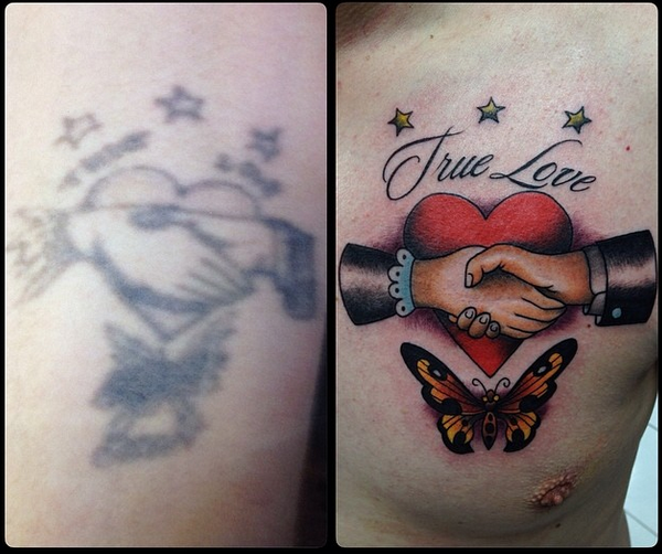 Cover up by Leon
