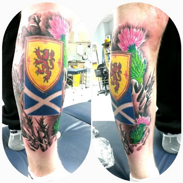 Scotland Leg Piece by Robert