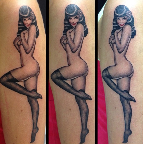 Pin up by Lisa