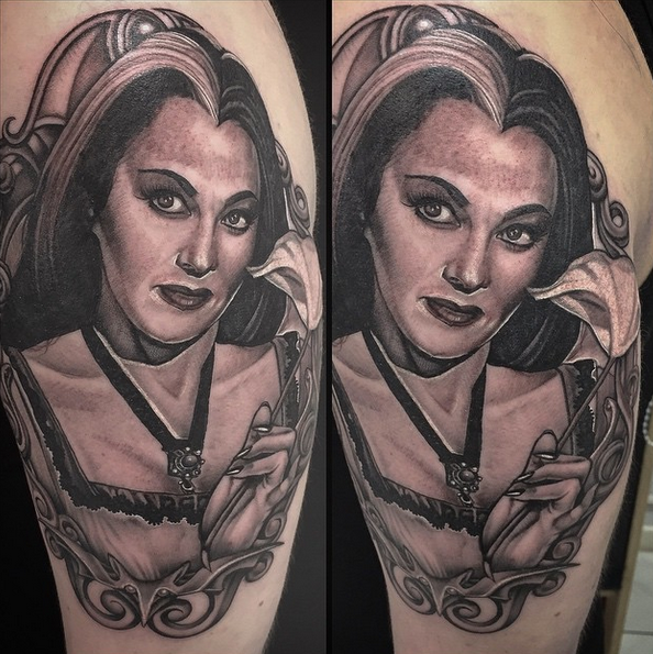 Lily Munster by Lisa