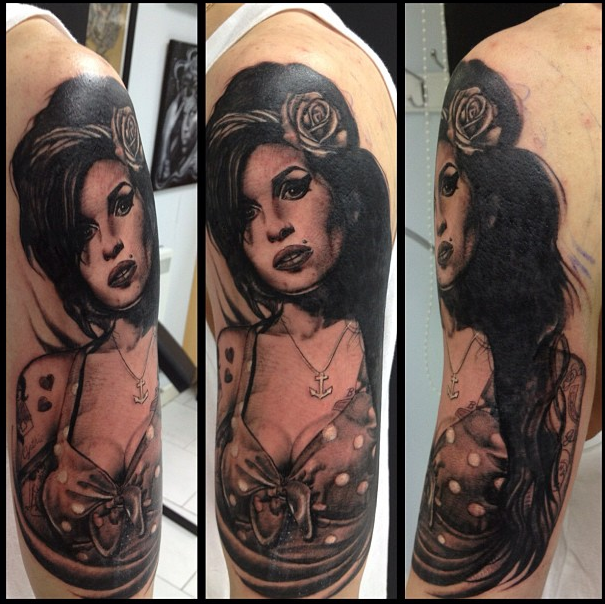 Amy Winehouse by Lisa