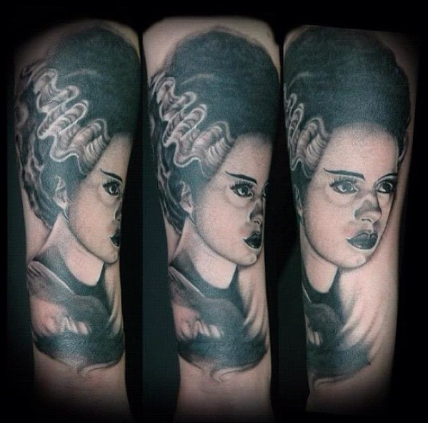 Bride of Frankenstein by Lisa