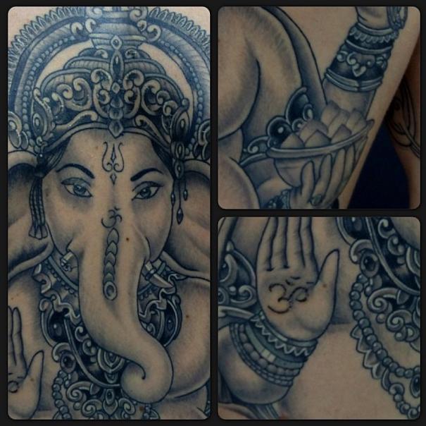 Ganesh by Leon