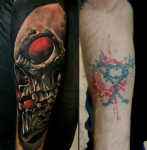 Cover up by Robert