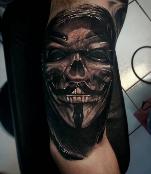 Guy Fawkes Mask by Robert