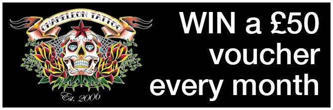 Win a £50 voucher with Chameleon Tattoo now!